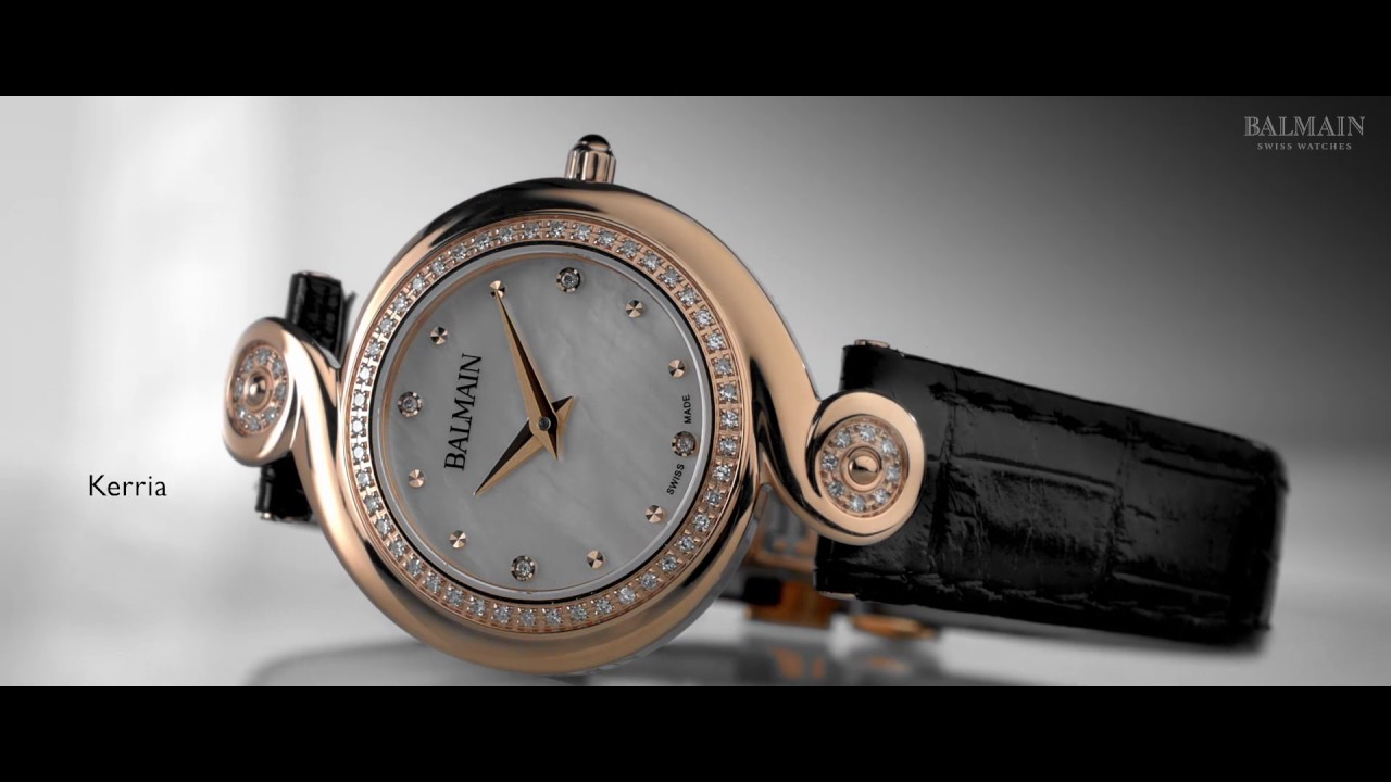 83de233d131 Top Balmain Watches Brand Ambassador - YouTube
