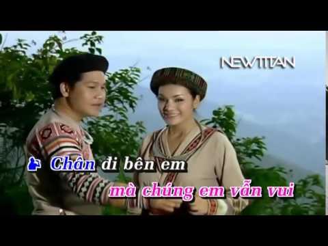 Gặp nhau giữa rừng mơ Tân Nhàn ft Trọng Tấn Karaoke   YouTube
