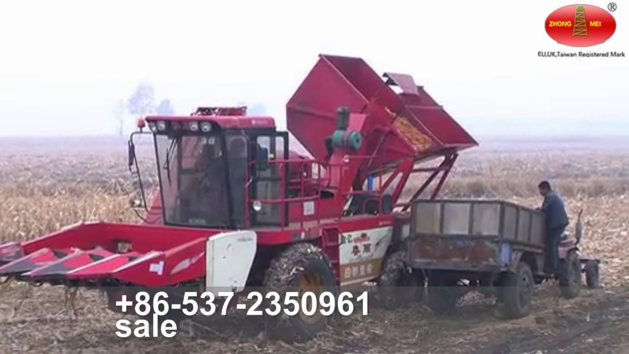 Corn Mower Corn Picker Maize Cutter Corn Harvester Youtube