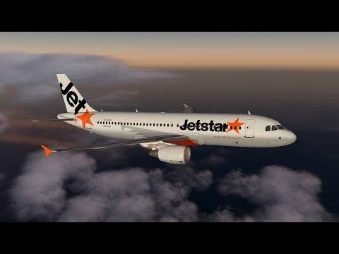 XP11 | YBBN (Brisbane) - YSSY (Sydney) | Flight Factor A320-200 | Amazing Twilight Scenery! & Pill!