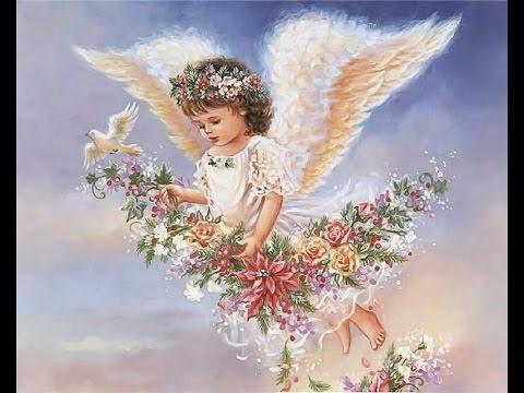 Вышивка бисером ангела фото