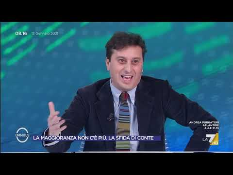 """Crisi, il paragone di David Parenzo: """"Renzi come lo scorpione"""""""