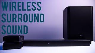 JBL Bar 5.1 // True Wireless Surround Sound?!?!