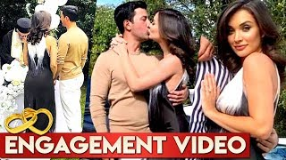 Amy jackson Engagement Video | Amy Jackson engaged With George | Amy Engagement Moments