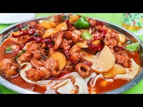 Chinese food tv halal street food journey to islamic china chinese food tv halal street food journey to islamic china xinjiang huge chicken plate on the forumfinder Image collections