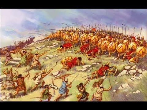 Ancient Greek Wars - Peloponnesian War, the begining