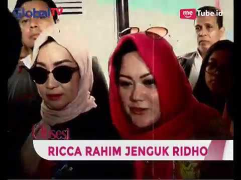 Ricca Rahim Jenguk Ridho & Bawakan Surat Permohonan Rehabilitasi - Seleb 12 Jam 28/03