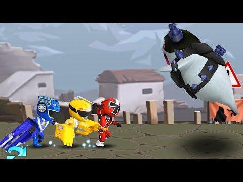 Power Rangers Dash - A Village In Ruins Levels 11 -20 Walkthrough