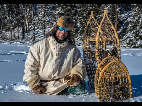 Do SNOWSHOES Work? | Testing In DEEP SNOW, Bear Paw, Ojibwa Designs