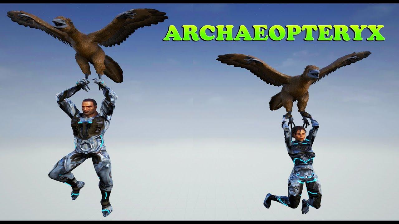 ARK Dev Kit | ARCHAEOPTERYX | The Parachute Dino