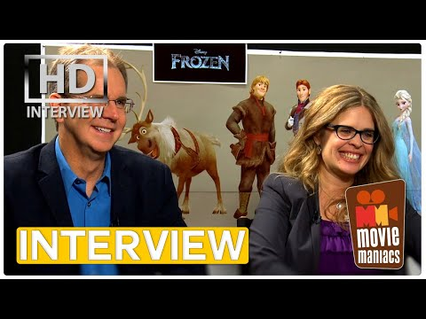 Frozen - Die Eiskönigin | Chris Buck & Jennifer Lee Interview (2014)
