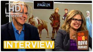 Frozen - Die Eiskönigin   Chris Buck & Jennifer Lee Interview (2014)