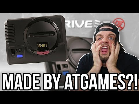 The SEGA Genesis Mega Drive Mini is Made by ATGAMES - WHY?! | RGT 85