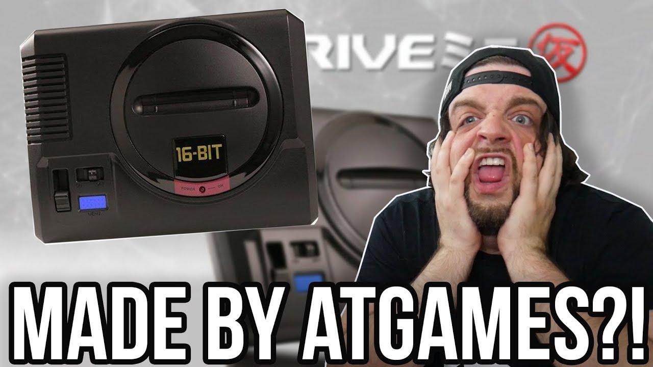 The SEGA Genesis Mega Drive Mini is Made by ATGAMES - WHY?! | RGT 85