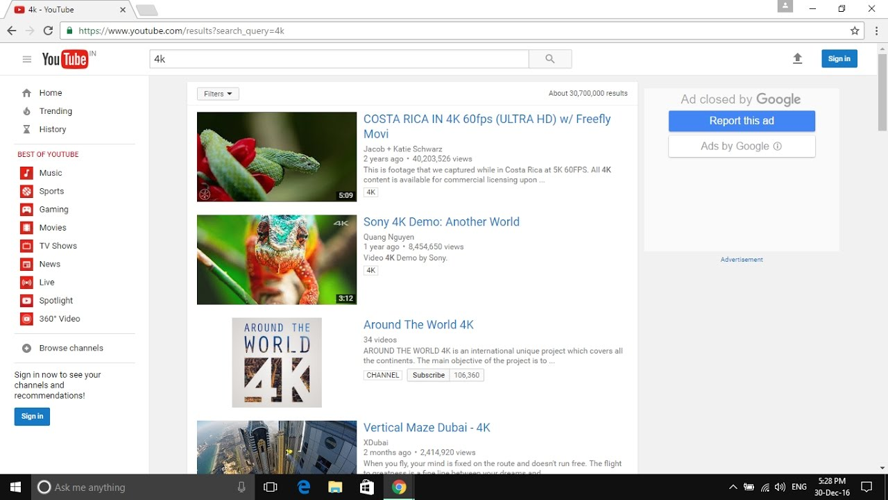 how to download 2k 4k and 8k resolution videos ? - youtube