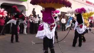 Presentacion Carnaval Papalotla 2014 Cuadrilla San Marcos Contla Parte 3 (Culebra)