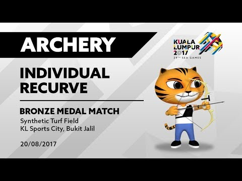 KL2017 29th SEA Games | Archery - INDIVIDUAL RECURVE - BRONZE MEDAL MATCH | 20/08/2017