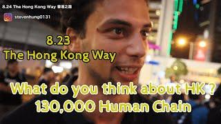 8.23 香港之路 The Hong Kong Way *130,000 Human Chain*