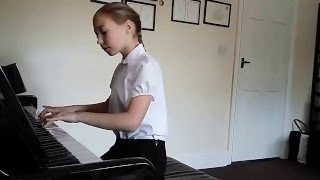 Two - Part Invention No 12 in A Major, J.S.Bach,  Alicja Kojder