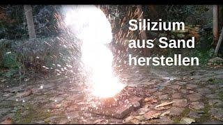 Silizium mit Thermit herstellen