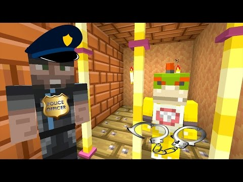 Minecraft Wii U - Nintendo Fun House - BOWSER JR GOES TO JAIL! [52]