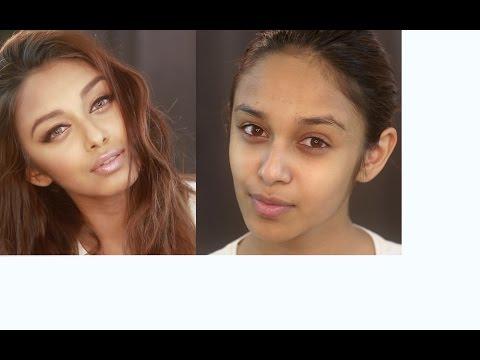 Aishwarya Rai Eyeliner Makeup with Affordable Products