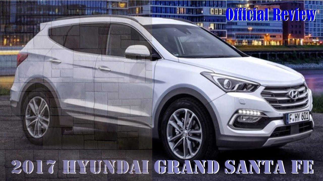 2017 Hyundai Grand Santa Fe Review - Concept and Specs - YouTube