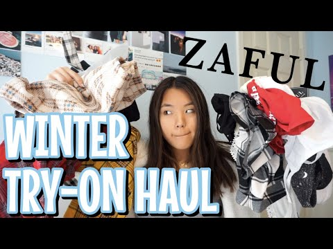 Winter 2018 Try-On Clothing Haul (ft. zaful)