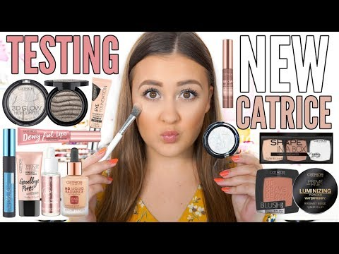 TESTING NEW CATRICE 2018 FALL & WINTER MAKEUP | First Impressions Review & Wear Test