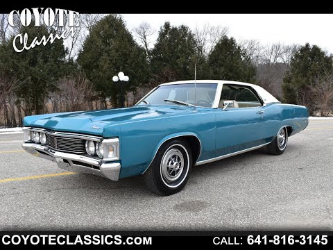 Must See!! 2,000 Actual Miles!!! 1969 Mercury Monterey Custom At Coyote Classics