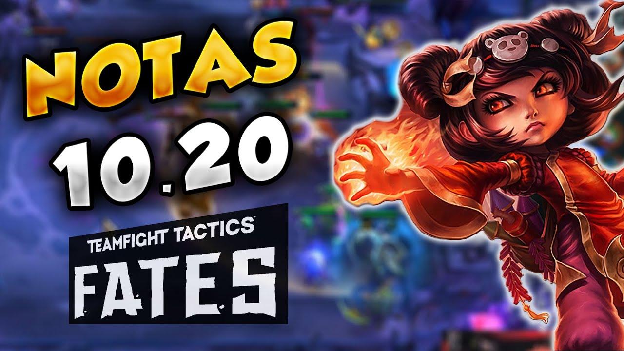 NOTAS del PARCHE 20.20 de TFT   Teamfight Tactics LOL Español