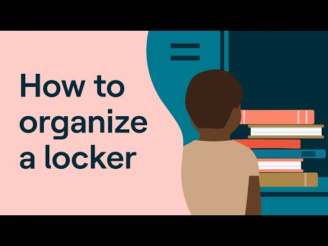 ADHD Strategies For Students: How To Organize A Locker (and Other Locker Tips)