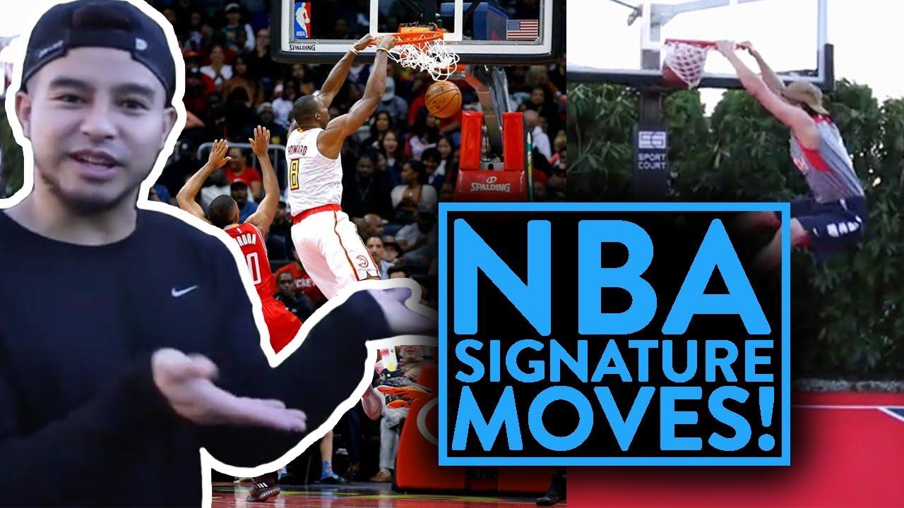 f33052ab0fda NBA SIGNATURE MOVES 9  2017 Season (WESTBROOK vs HARDEN) - YouTube