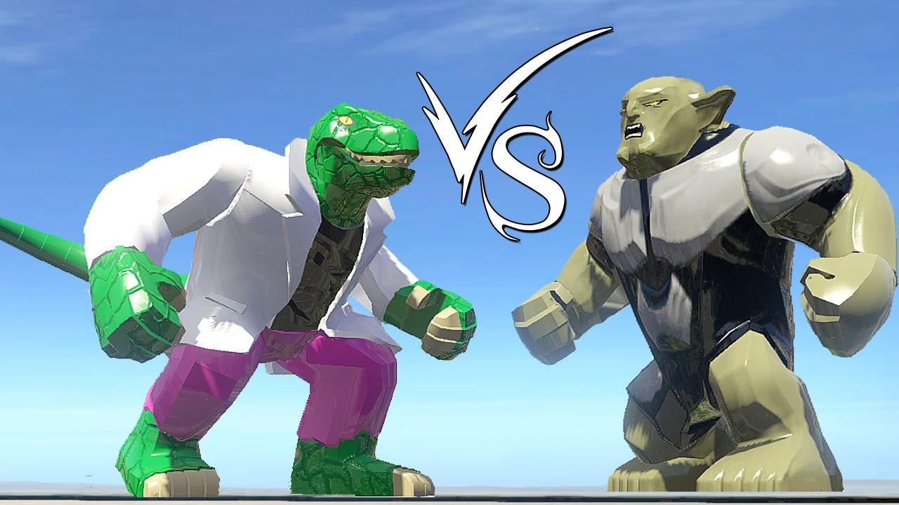 Lizard (Curt Connors) Vs Green Goblin (Ultimate) - LEGO ...