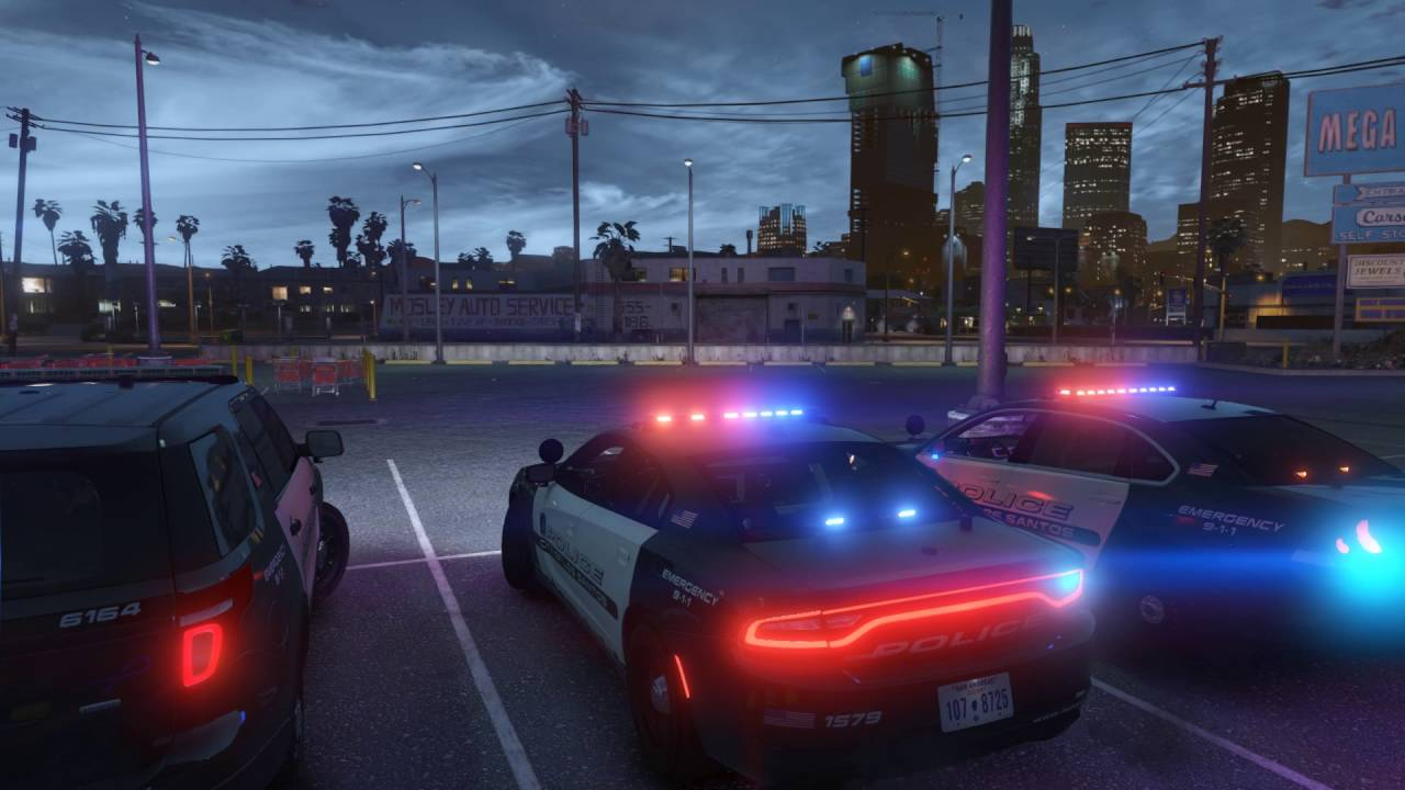 LSPD Pack Showcase (ELS Style Lighting) - YouTube