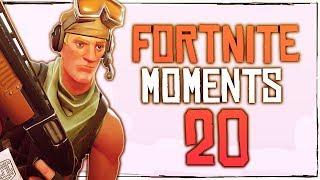 Fortnite Battle Royale WTF & Funny Moments Episode. 20