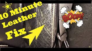 How To Fix NASTY Black LEATHER Seats in 10 Minutes 4 CHEAP
