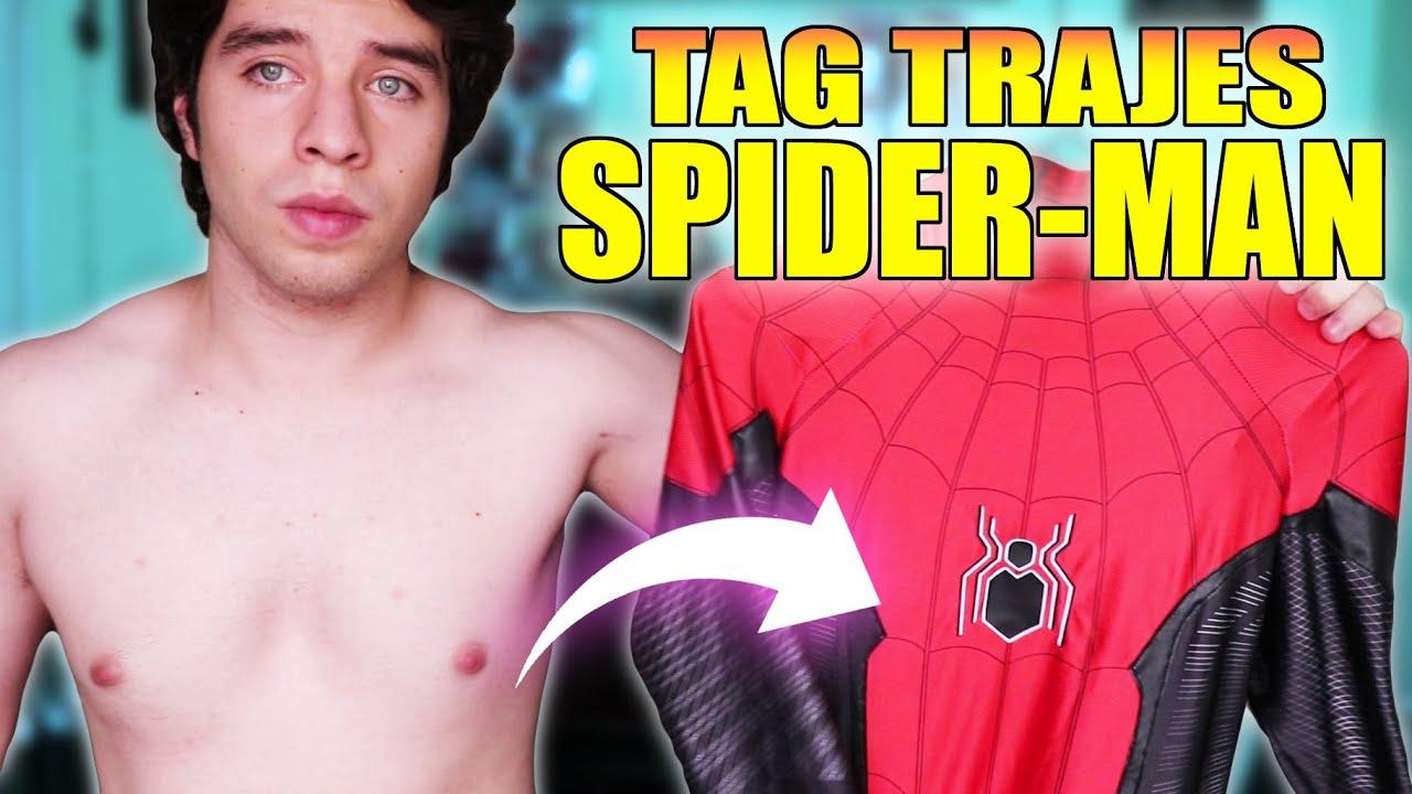 TAG DE LOS TRAJES DE SPIDER MAN | Emma Spider