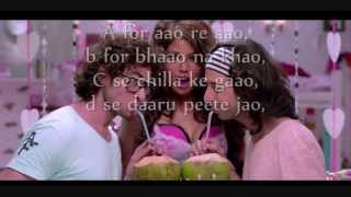 Yaariyan ABCD lyrics- Honey Singh | LYRICS | full video song
