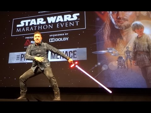 Ray Park Darth Maul duces Star Wars marathon at El Capitan Theatre in Hollywood