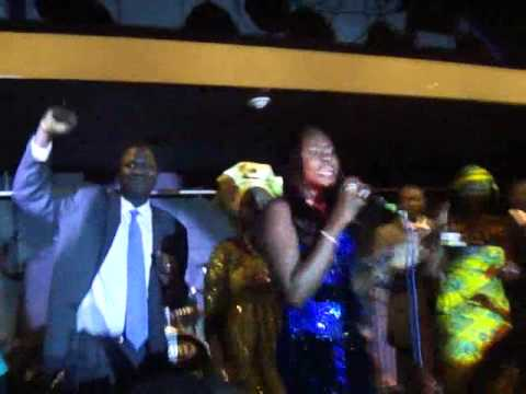 Nyapal Lul rocking stage Omaha U.S by Bol Jock