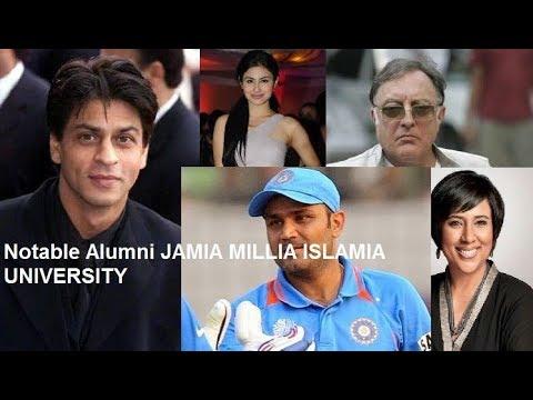 Notable Alumni of Jamia Millia Islamia