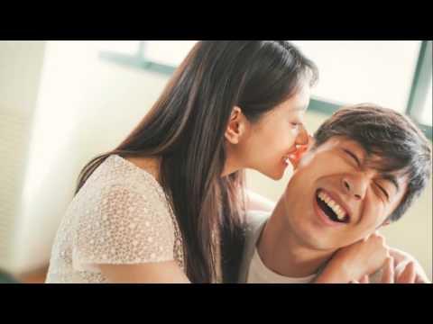 Shen Jiani Zhu Yawen and his wife hugged and kissed sweet wedding exposure
