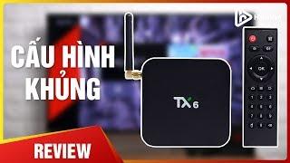 TANIX TX6-H Android 9 TV Box - Allwinner H6 | Bản Mới Nhiều Nâng Cấp [Hieuhien.vn]