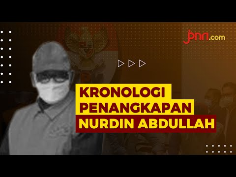 Detik-detik Nurdin Abdullah Diangkut KPK