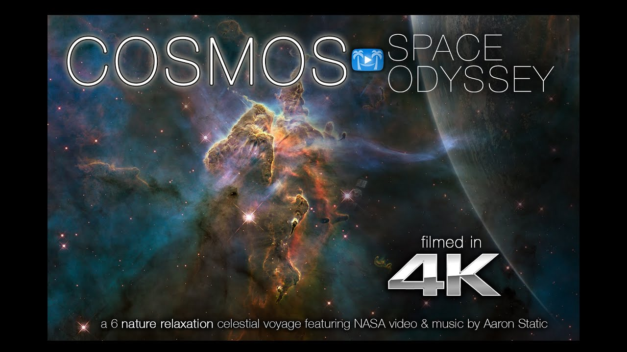Cosmos Space Odyssey 4k Nature Relaxation Video Ft Nasa Music By Aaron Static