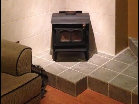 Wood Burning Stove Installation using an existing brick chimney ...