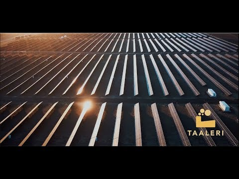 Taaleri Energia and Masdar constructing the largest solar power plant in Jordania