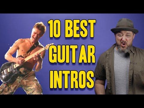 Top 10 Best Guitar Intros