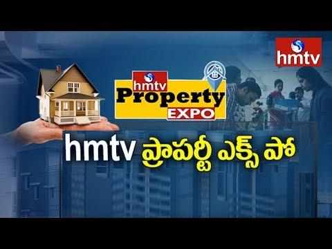 Good Response to hmtv Property Expo   Cyber City Convention Hall   Hyderabad   hmtv